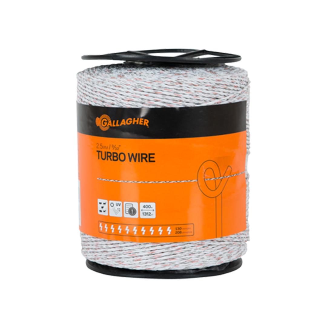 Gallagher Turbo Wire 2.5mm x 200m