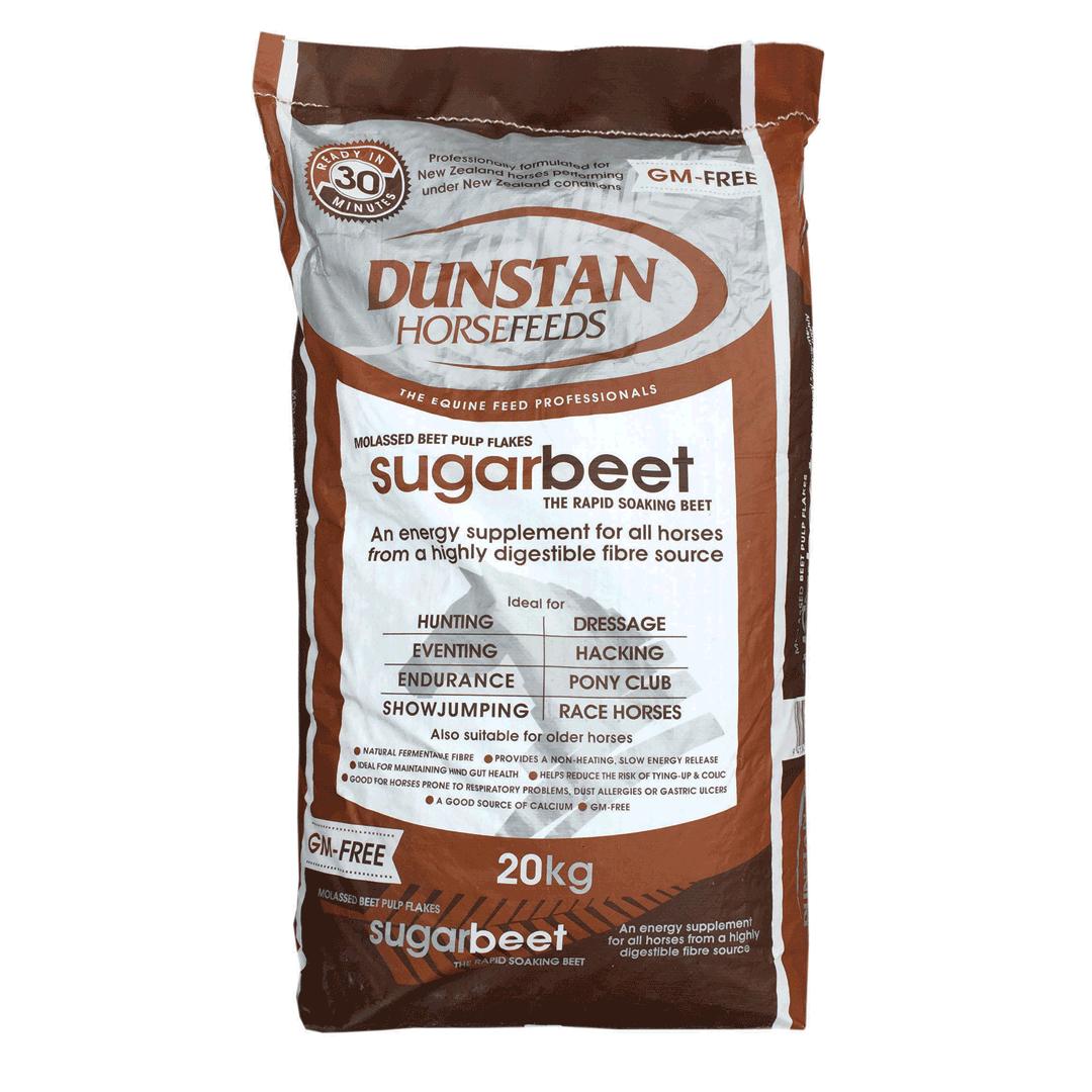 Dunstan Sugarbeet Flakes Natural Feed 20kg