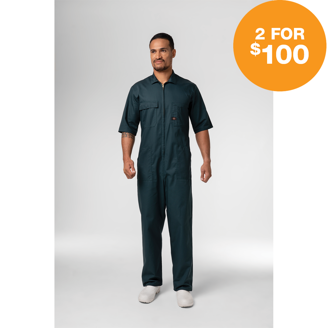 Deane Overall PolyCotton Short Sleeve