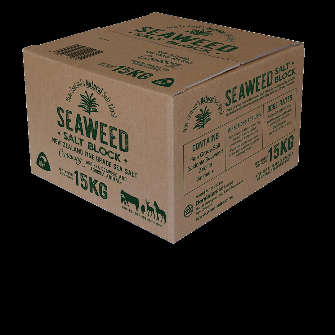 Dominion Seaweed Salt Block 15kg