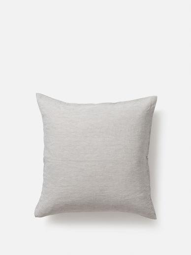 Stripe Linen Euro Pillowcase