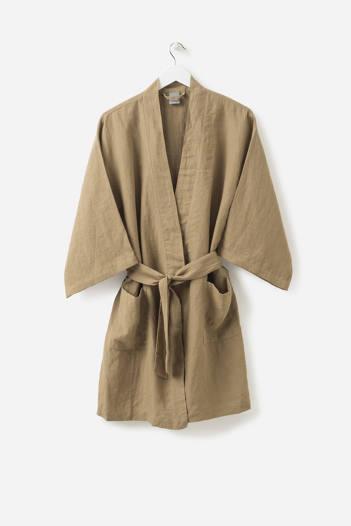 Pickle Short Linen Robe