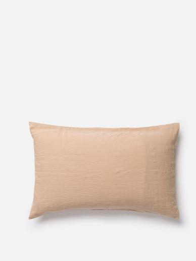 Latte Linen Pillowcase PR
