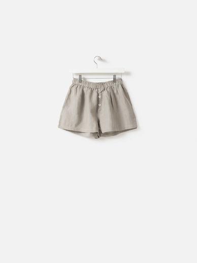 Puddle Linen Shorts
