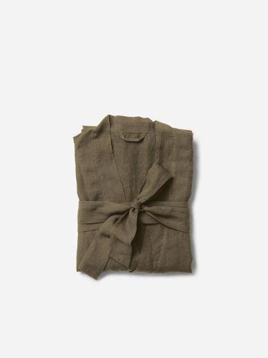 Ivy Men's Linen Robe