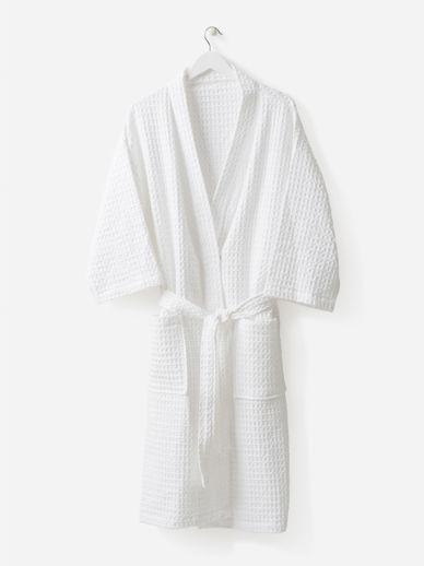 Waffle Organic Cotton Bath Robe