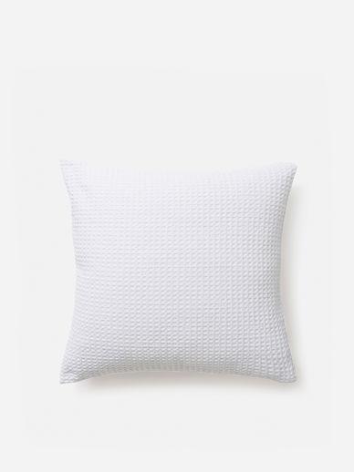 Organic Cotton Large Waffle Euro Pillowcase
