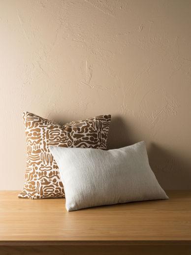 Heavy Linen Jute Cushion Cover