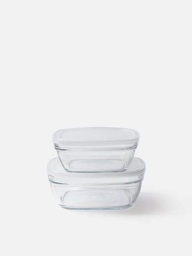 Duralex Freshbox Square with Frosted Lid