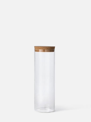 Canister w/ Cork Lid