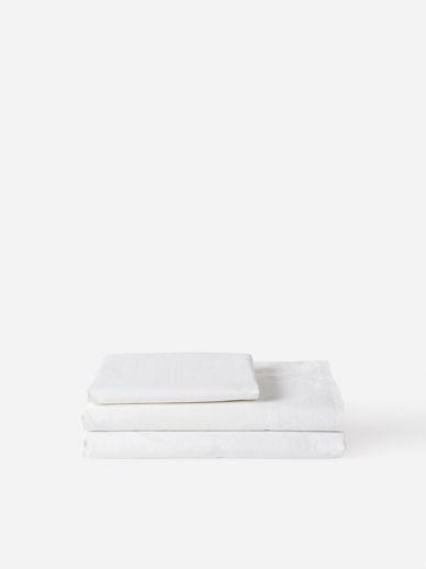 Washed Egyptian Cotton Pillowcase Pair