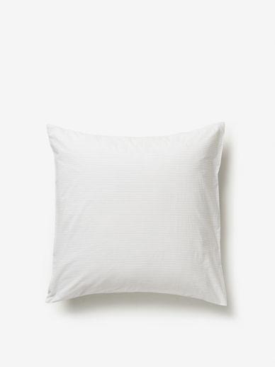 Pinstripe Organic Cotton Euro Pillowcase