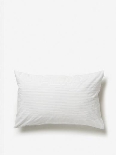 Pinstripe Organic Cotton Pillowcase Pair
