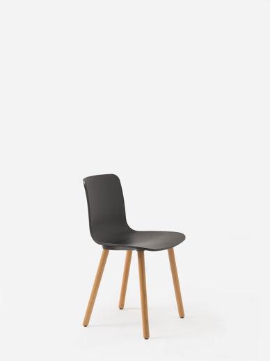 Vitra HAL Light Oak Chair